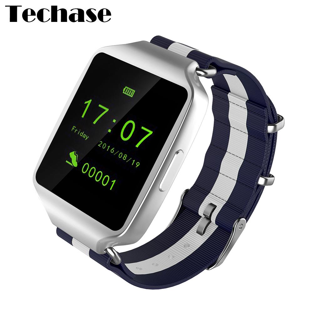 c53b0792b Techase Smartwatch L1 Reloj Inteligente Men Relojes Bluetooth Smart ...