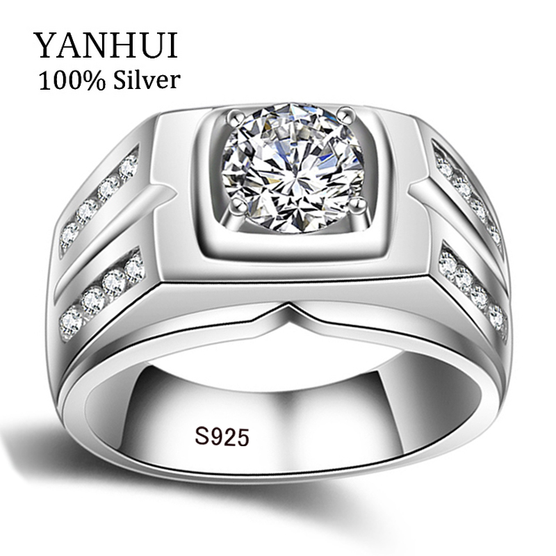 ring diamant zilver